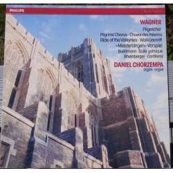 Richard Wagner: Pilgrim Choir, Walkure ride, Daniel Chorzempa organ. 1 LP. Philips 4161591 New Copy