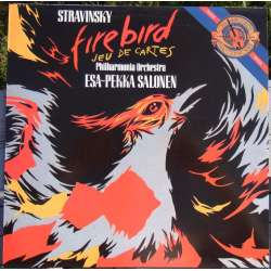 Stravinsky: The Firebird, Jeu du Cartes. Esa-Perka Salonen. 1 LP. CBS. New Copy