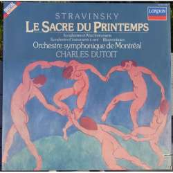 Stravinsky: Le Sacre du Printemps. Charles Dutoit. Montreal SO. 1 LP. Decca. New Copy