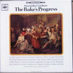 Stravinsky dirigerer The Rake's Progress. 3 LP. CBS 77304