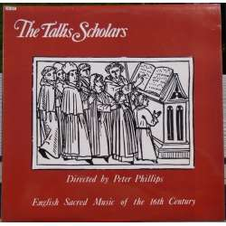 The Tallis Scholars: English sacred music from 16th Century. 1 LP. Fanfare