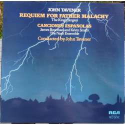 John Tavener: Requiem for Father Malachy. King's Singers, Nash Ensemble. 1 LP. RCA
