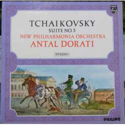 Tchaikovsky: Orkestersuite Nr. 3. Antal Dorati, New Philharmonic Orchestra. 1 LP. Philips