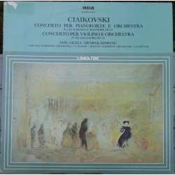 Tchaikovsky: Violin Concerto & Piano Concerto no. 1. Henryk Szeryng, Emil Gilels, Charles Munch. 1 LP. RCA.