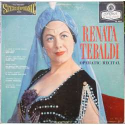 Renata Tebaldi: Operatic arias. Mozart, Cilea, Refice, Catalani, Mascagni, Rossini. 1 LP. London