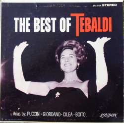The Best of Tebaldi. Catalani, Mozart, Rossini. 1 LP. Decca