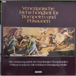 Venetian music for trumpet and Posauner. Members of the Bamberg Winds. 1 LP. ACM