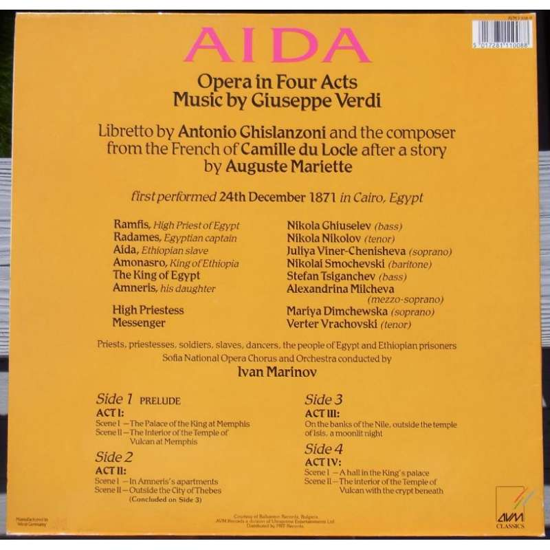 "verdi ghislanzoni and ""aida"" the uses"