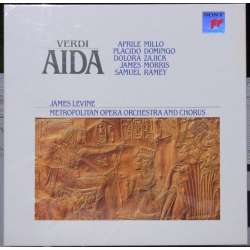 Verdi: Aida. Domingo, Millo, Levine. 3 LP. Sony, New Copy