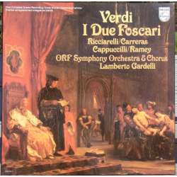 Verdi: I due Foscari. Carreras, Ramey. Gardelli. 2 LP. Philips