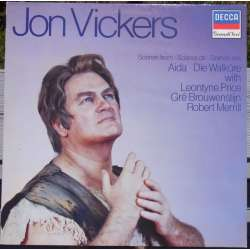 Jon Vickers. Arias from Aida & Die Walküre. 1 LP. Decca. New Copy