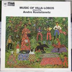 Music of Villa-Lobos played by Andre Roselanetz. 1 LP. CBS. 61564
