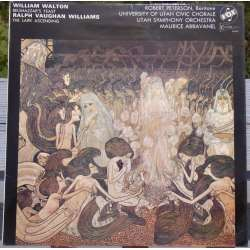 Walton: Belshazzars feast. & Vaughan Williams: The Lark Ascrending. Abravanel. 1 LP. Vox