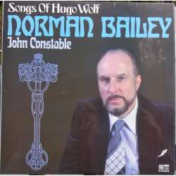 Hugo Wolf: Sange. Norman Bailey, Constable. 1 LP. Saga