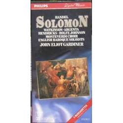 Handel: Solomon. John Eliott Gardiner. 3 MC-Tape. Philips