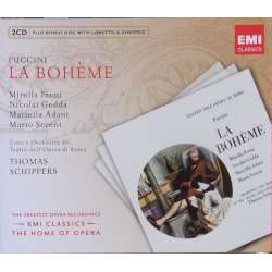 Puccini: La Boheme. Mirella Freni, Nicolai Gedda. Thomas Schippers. 2 CD. EMI. The home of opera