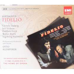 Beethoven: Fidelio. Ludwig, Vickers. Otto Klemperer. 2 CD. EMI. The home of opera