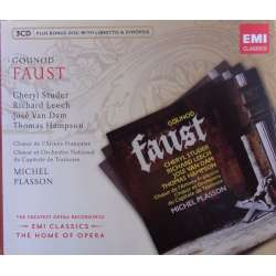 Gounod: Faust. Studer, Hampson. Plasson. 3 CD. EMI. The home of opera