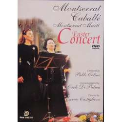 Påske koncert. Caballé, Marti. Messiah, Ave Maria. Pan Dream. 1 DVD. Pan Dream