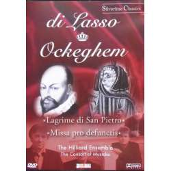 di Lasso & Ockeghem. The Hilliard Ensemble. 1 DVD. Amado
