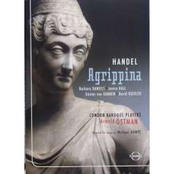Handel: Agrippina. Daniels, Hahn. London Baroque Players. Arnold Ostman. 1 DVD. Euroarts