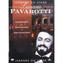 Pavarotti: Legends on stage. Interview, Biography, Discography. 1 DVD. MCPS.