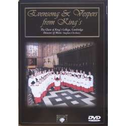 Evensong & Vespers from King's College. Stephen Cleobury. King's College, Cambridge. 1 DVD.
