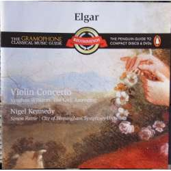 Elgar: Violinkoncert. & VW: The Lark Ascending. Nigel Kennedy. Simon Rattle. 1 CD. EMI