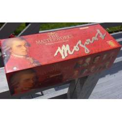 Mozart: The Masterworks / Mesterværkerne. 40 CD. Brilliant Classics