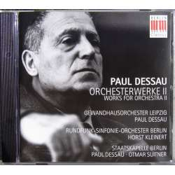Paul Dessau: Symphony No. 2. Rolf Kleinert, Berlin Radio SO. 1 CD. Berlin Classic, New Copy