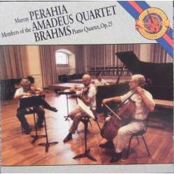 Brahms: Piano Quartet Op. 25 Amadeus Quartet. Murray Perahia. 1 CD. Sony