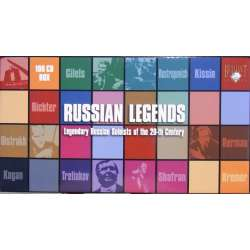 Russian Legends. Legendary Russian soloists of the 20'th century 100 CDs. Russian Archives 8713 New factory sealed box.