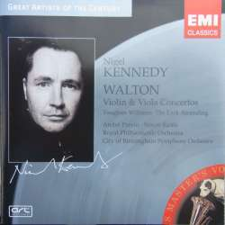 Walton: Violinkoncert & bratchkoncert. & Vaughan Williams: The Lark Ascreding. Nigel Kennedy. 1 CD. EMI GAC