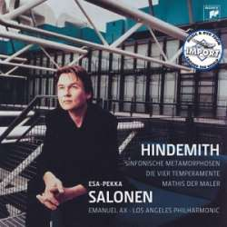 Paul Hindemith: Mathis der Mahler & Sinfonische Metamorphosen. Esa Pekka Salonen, Los Angeles PO. 1 CD Sony