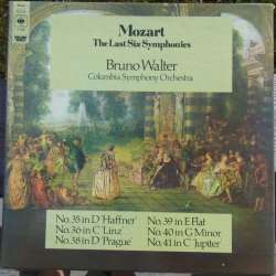 Mozart: Late Symphonies nos. 35-41. Bruno Walter, Columbia SO. 3 LP. CBS. 77308