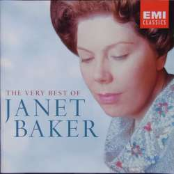 The Very Best of Janet Baker. Elgar, Bach, Handel, Brahms. 2 CD. EMI