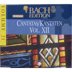 Bach: Kantater Vol. 12. Pieter Jan Leusink. Bach Collegium. 5 CD. Brilliant Classics