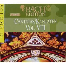 Bach: Kantater. Vol. 8. Pieter Jan Leusink. Bach Collegium. 5 CD. Brilliant Classics