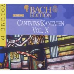 Bach: Kantater Vol. 10. Pieter Jan Leusink. Bach Collegium. 5 CD. Brilliant Classics