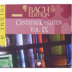 Bach: Kantater Vol. 9. Pieter Jan Leusink. Bach Collegium. 5 CD. Brilliant Classics