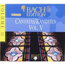 Bach: Cantatas. BWV: 6, 26, 27, 46, 55, 94, 96, 107, 115, 139, 156, 163, 164, 178, 171. 5 CD. Brilliant
