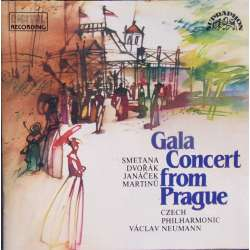Gala Concert from Prague. Czech PO. Vaclav Neuman. 1 CD. Supraphon