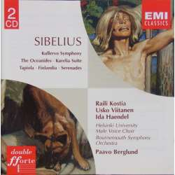 Sibelius: Kullervo. Paavo Berglund, Bournemouth SO. 2 CD. EMI. Forte