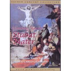 Rossini: Stabat Mater. In the original version for winds. Giuffredi. 1 DVD. Pan Dream