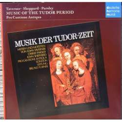 Musik der Tudor Zeit. Taverner, Sheppard, Parsley. Pro Cantione Antoque. 1 CD. DHM. (Gregorian Chant)