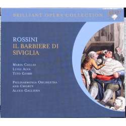 Rossini: Barberen fra Sevilla. Maria Callas, Alva, Gobbi. Aldo Galiera. 2 CD. Brilliant Classics