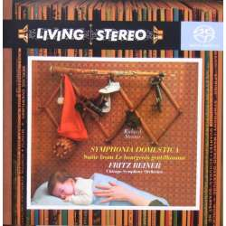 Strauss: Symphonia Domestica. Chicago SO. Fritz Reiner. 1 CD. SACD. RCA. Living Stereo