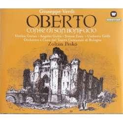 Verdi: Oberto. Cortez, Gulin, Esther. Zoltan Pesko. 2 CD. Warner