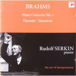 Brahms: Piano Concerto no. 1, Rudolf Serkin, Cleveland Orchestra, George Szell. 1 CD. Sony