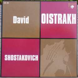 Shostakovich: Violin Concertos no. 1 & 2. David Oistrakh, Mravinsky. 1 CD. Russian Archives